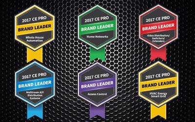 Control4 назван лидером в комплексном управлении домами третий год подряд